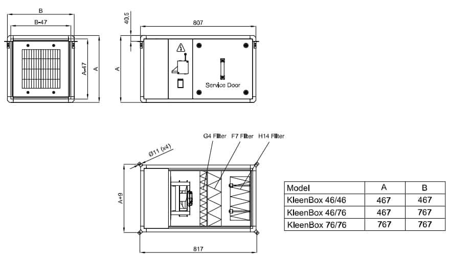 Ficha técnica Kleenbox 02