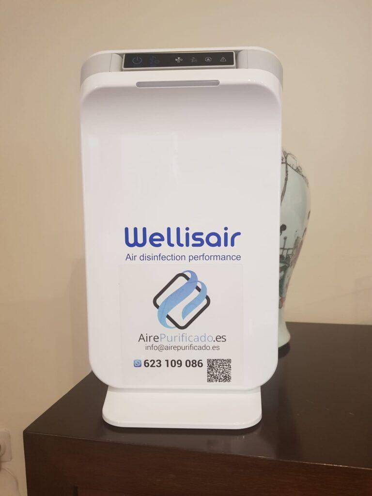 Wellisair instalado en consultaría