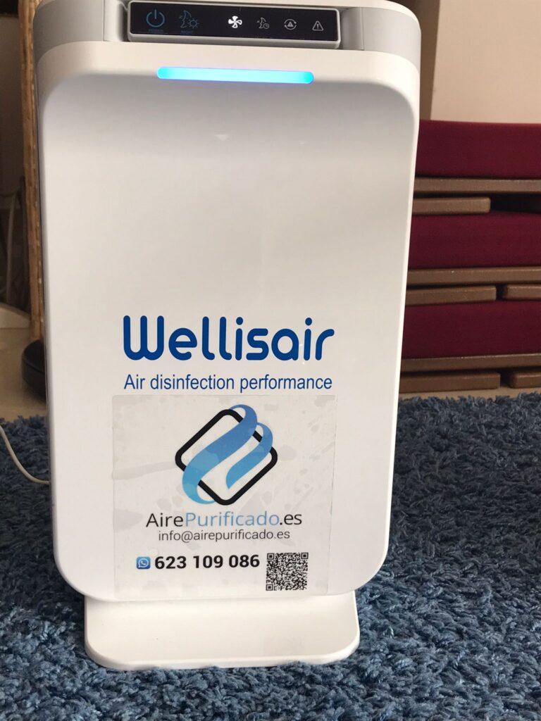 Wellisair dispositivo